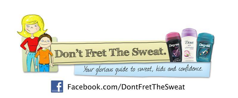 Don't Fret The Sweat Logo New