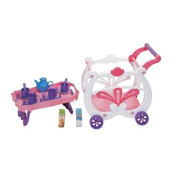Kidz 2 in 1 Tea Cart and Playset