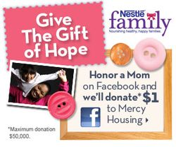 Nestle Family Give the Gift of Hope