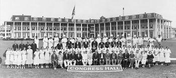 Congress Hall Staff 1928