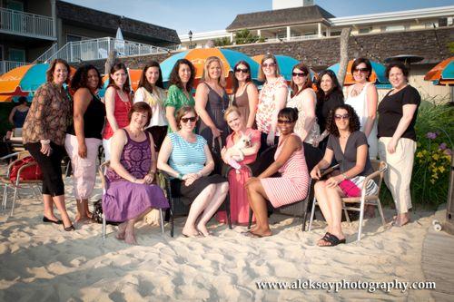 Mom-Bloggers at the Rusty Nail