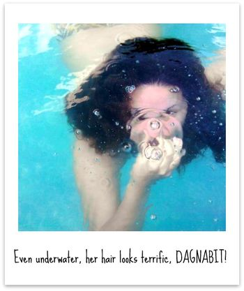 Holly Underwater