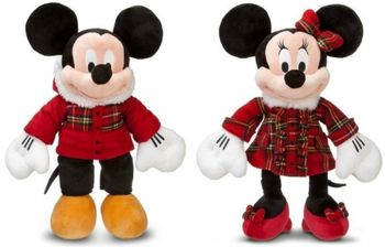 Micky and Minnie Mouse Holiday 2011