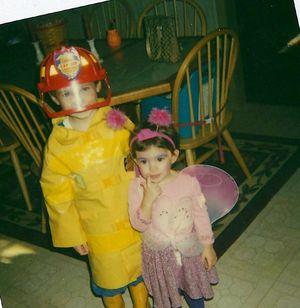 Glen and Hope Halloween 2003