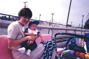 Glen's 1st trip to the Boardwalk
