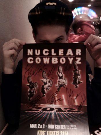 My Boy at Nuclear Cowboyz