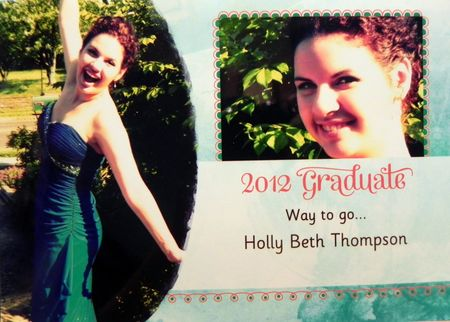 Holly's Graduation Announcements