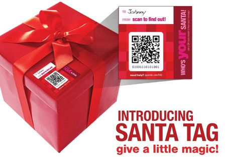 JCPenney Santa Tag Introduction