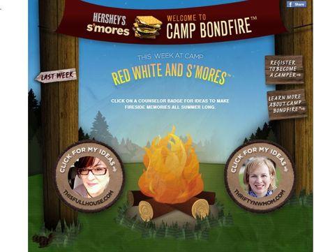 #Campbondfire