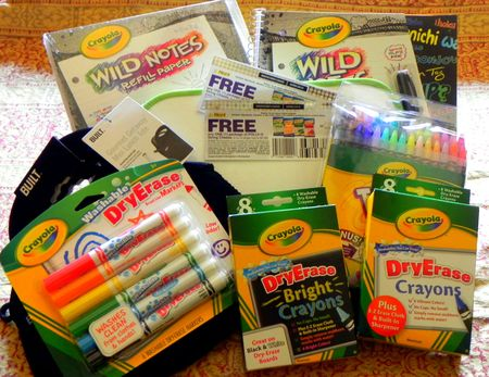 Kraft Crayola Back-to-School Giveaway Package