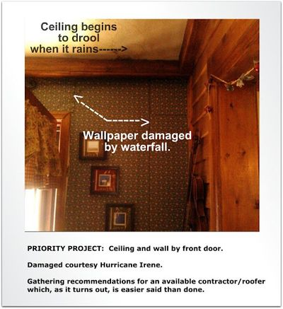 Priority Project Ceiling by Front Door 1