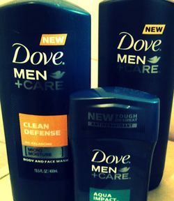 Dove Men+Care Up Close