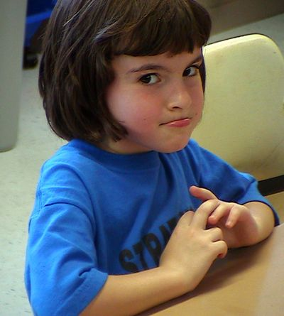 Hope in 1st grade