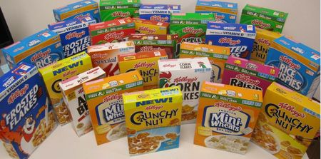 One Year Supply of Kellogg's Cereal.