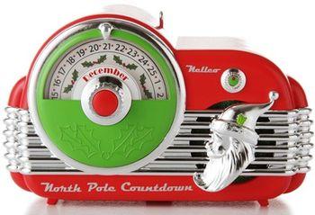 North Pole Countdown Keepsake Ornament