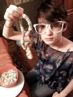 Chain, chain, chain, chain of Fruit Loops