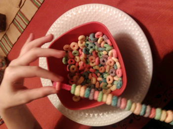 Threading the Froot loops
