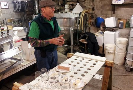 Tasting and discussion of heritage wines at Arbor Hill Grapery