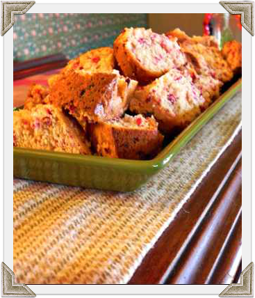 Heather's Cranberry Applesauce Bread