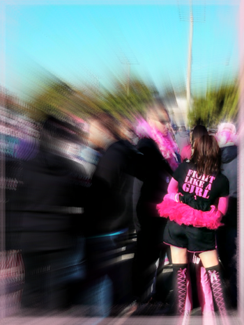Making Strides fight like a girl