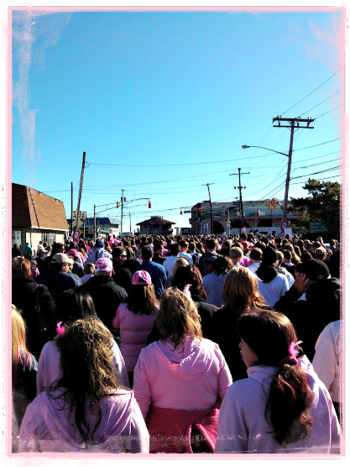Making Strides walking