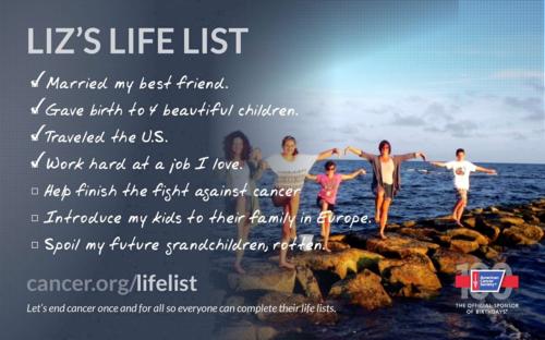 Liz's Life List