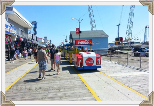 Wildwood tram car