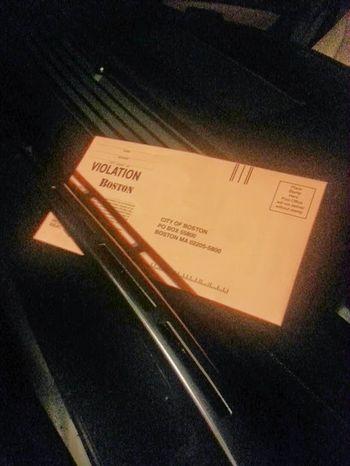 Boston Ticket