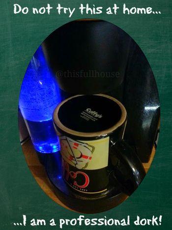 Upside down coffee