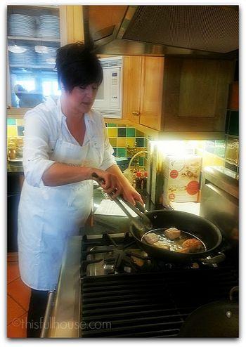 Step 2 Chicken and Kellogg's Mini Eggo Waffles my job