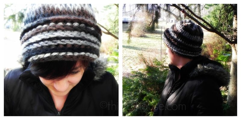Crocheted hat @ThisFullHouse