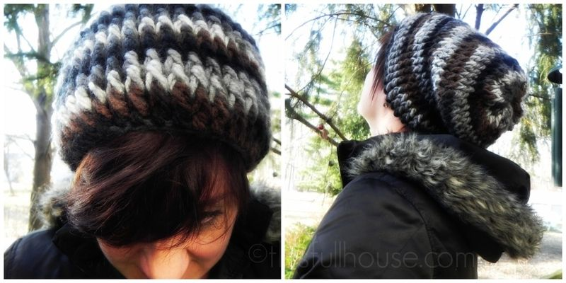 Slouchy hat @This Full House
