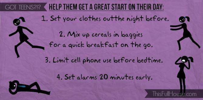 Great Start Tips for January 2014