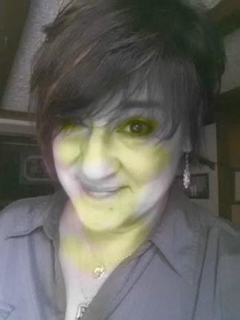 Liz a lot more green